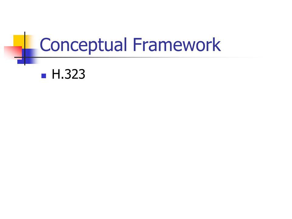 Conceptual Framework H.323