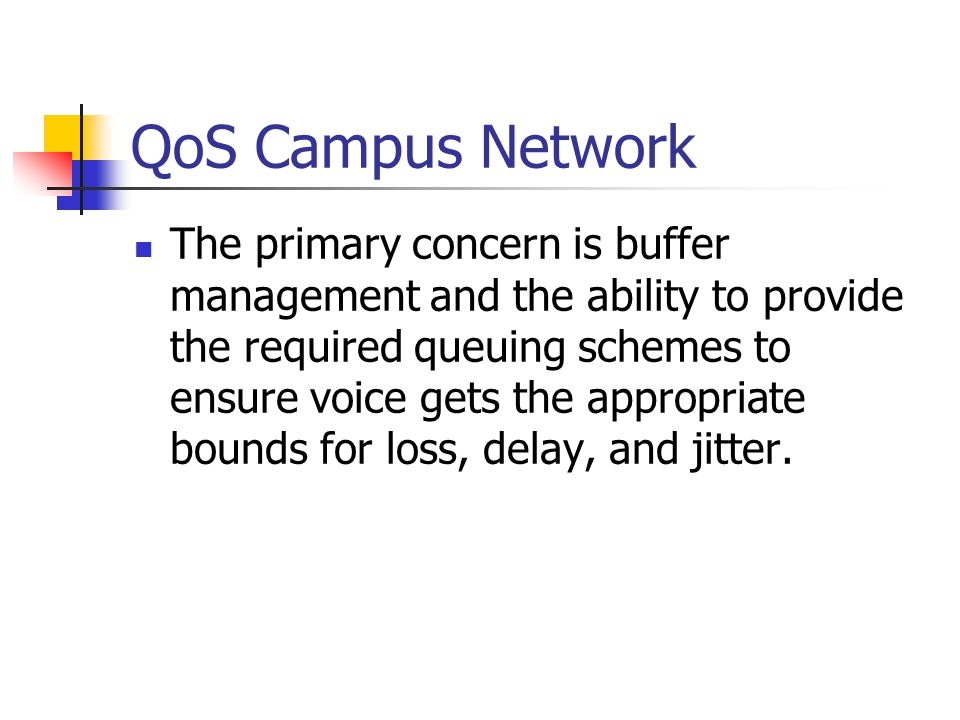 QoS Campus Network