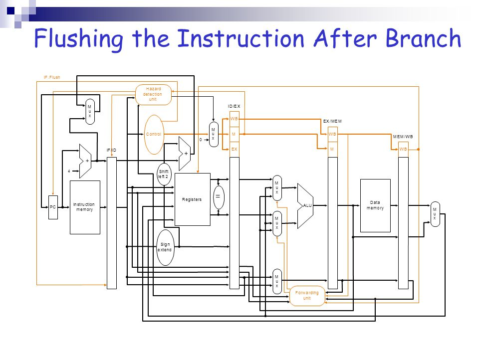 Flushing the Instruction After Branch