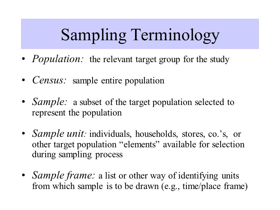 SAMPLING. - ppt video online download