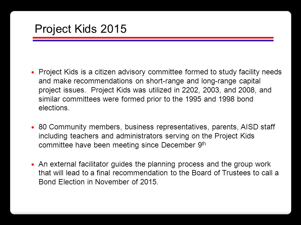 Project Kids 2015