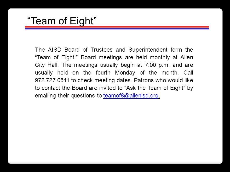 Team of Eight