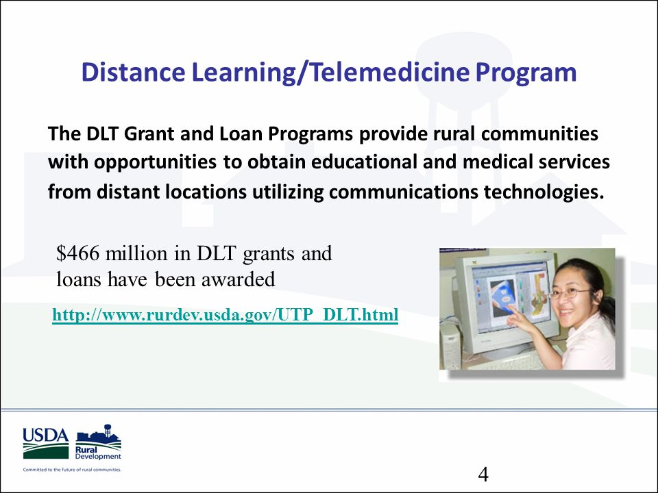 Distance Learning/Telemedicine Program