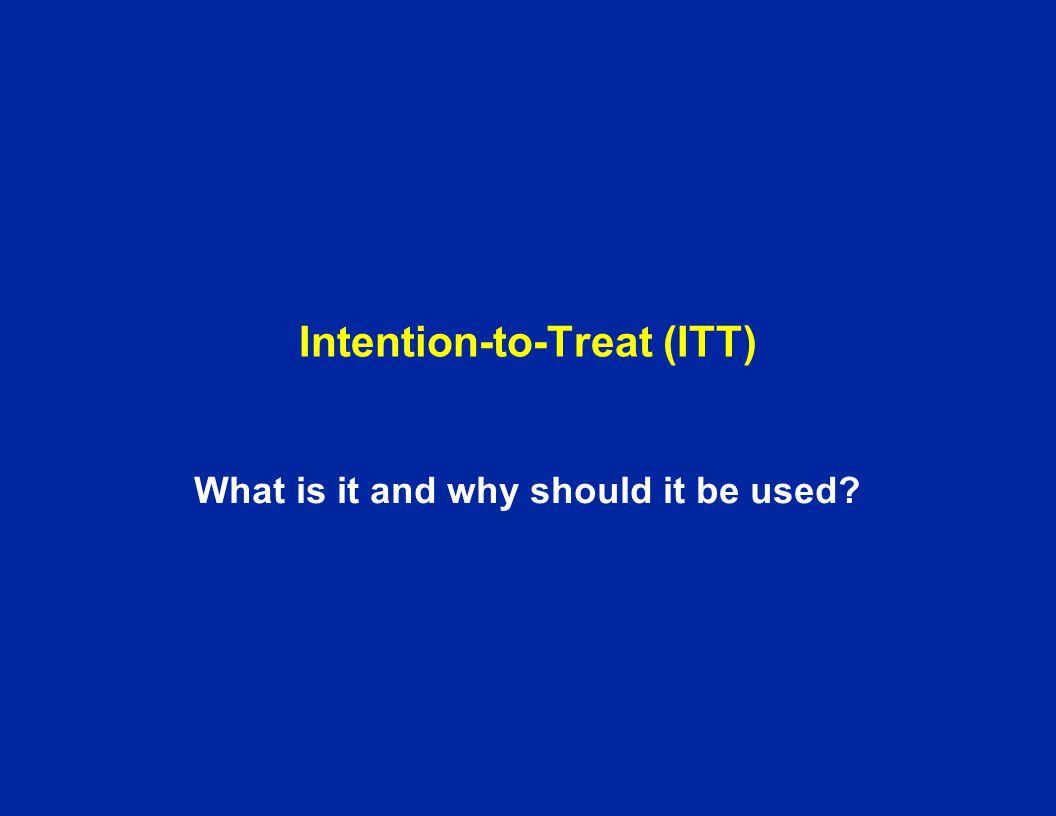 Intention-to-Treat (ITT)