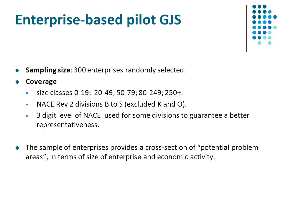Enterprise-based pilot GJS