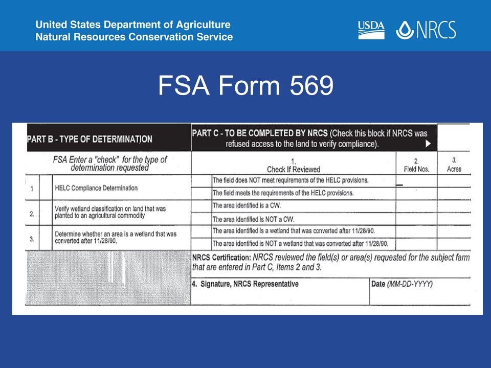FSA Form 569