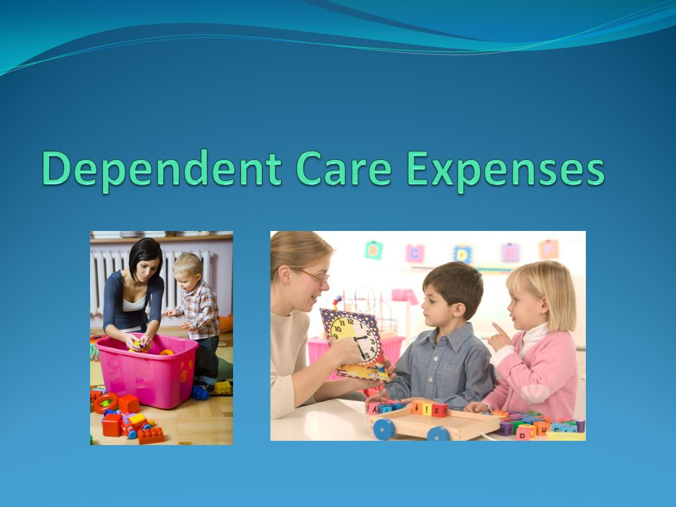 Dependent Care Expenses