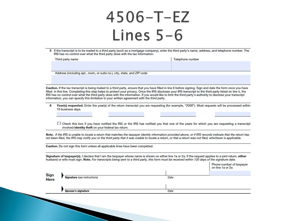 4506-T-EZ Lines 5-6