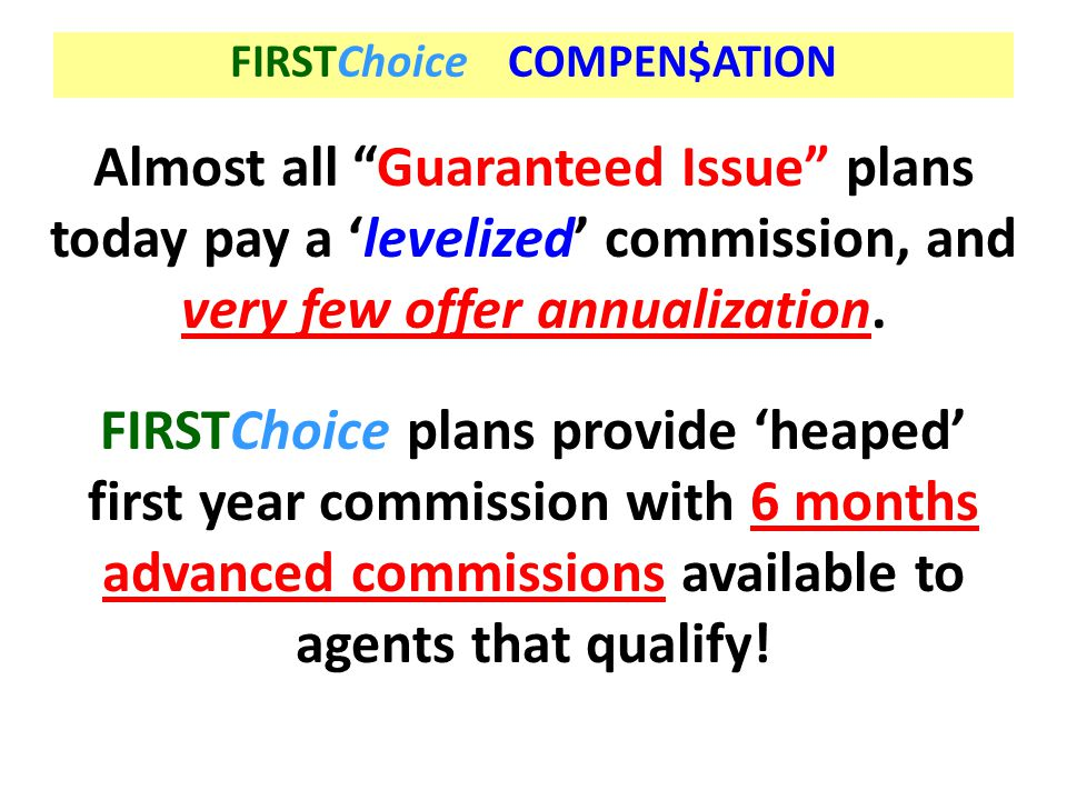 FIRSTChoice COMPEN$ATION