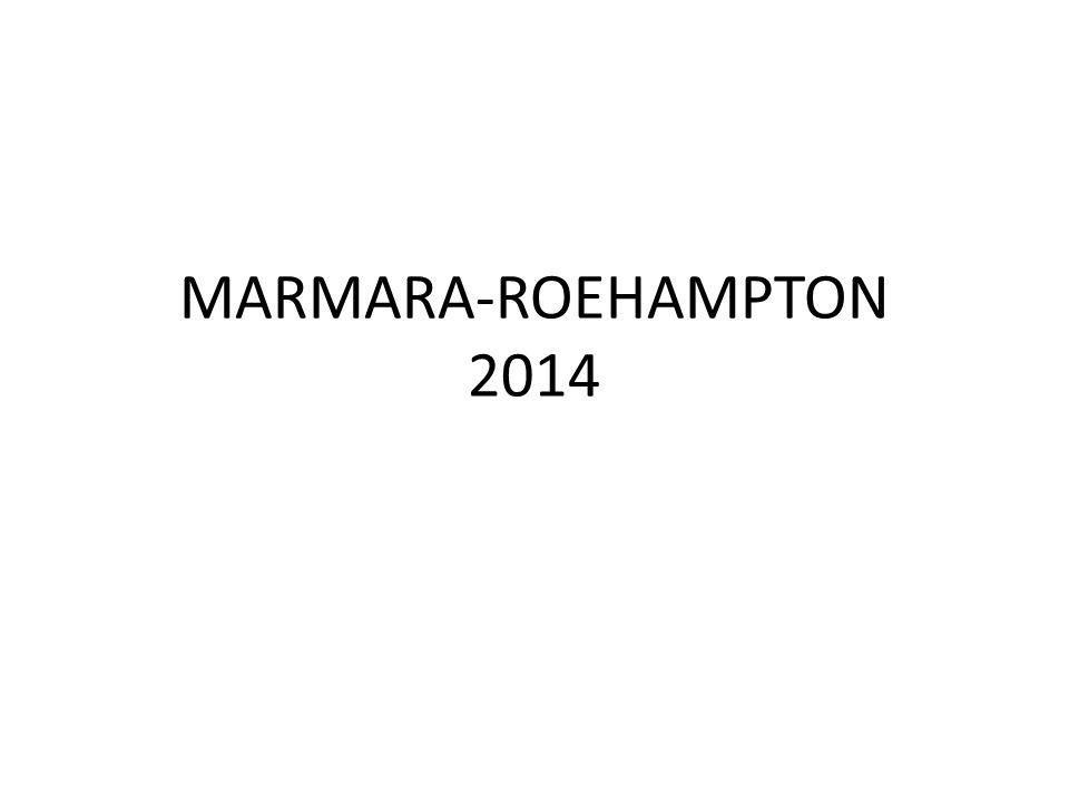 MARMARA-ROEHAMPTON 2014