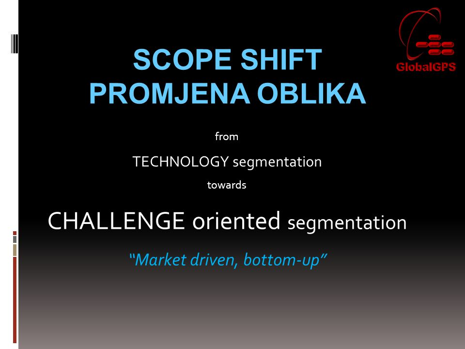 SCOPE SHIFT PROMJENA OBLIKA