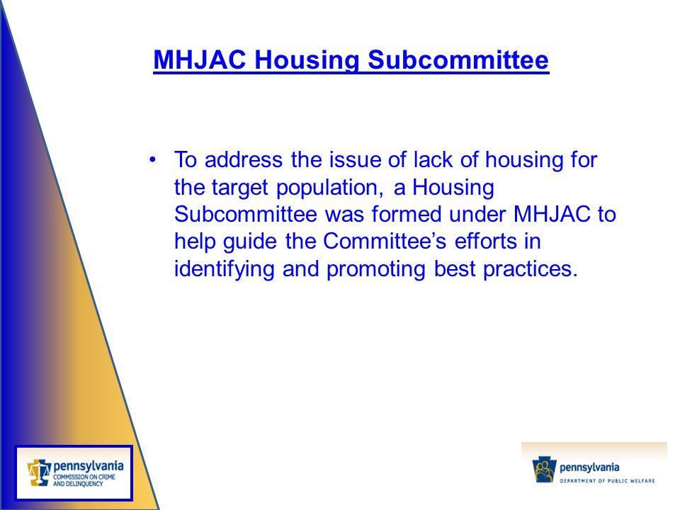 MHJAC Housing Subcommittee