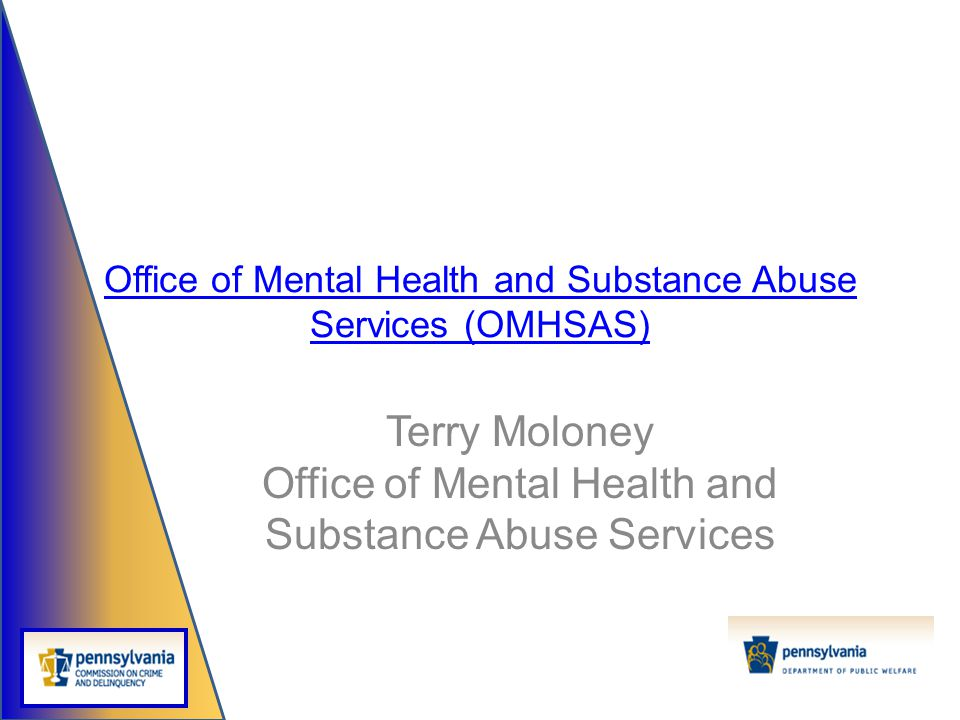 Office of Mental Health and Substance Abuse Services (OMHSAS)