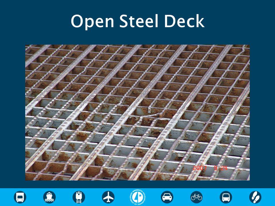 Open Steel Deck