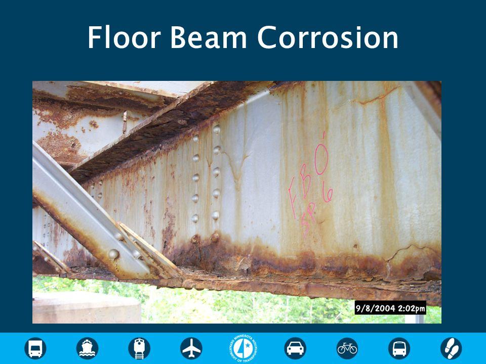 Floor Beam Corrosion