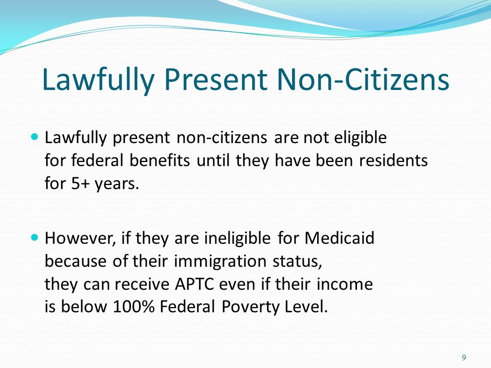 Lawfully Present Non-Citizens