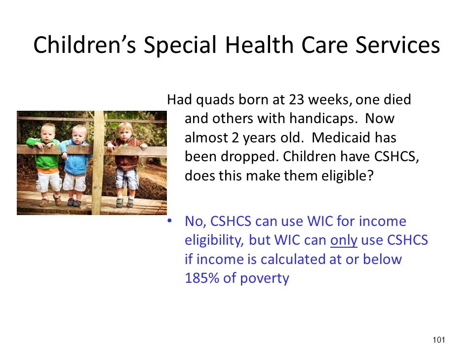 Children's Special Health Care Services