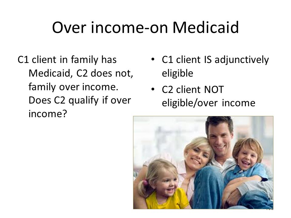 Over income-on Medicaid