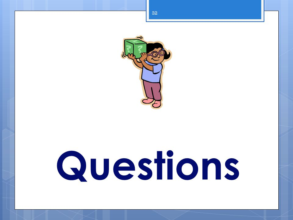 Questions 2013 WIC Income Webcast
