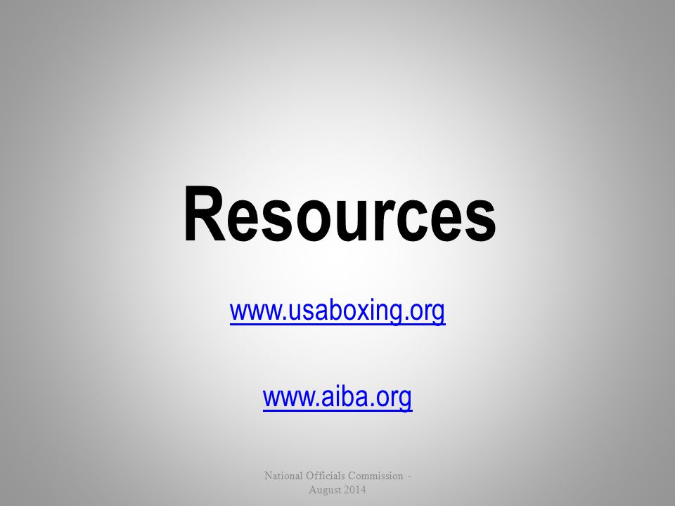 www.usaboxing.org www.aiba.org
