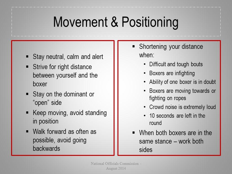 Movement & Positioning