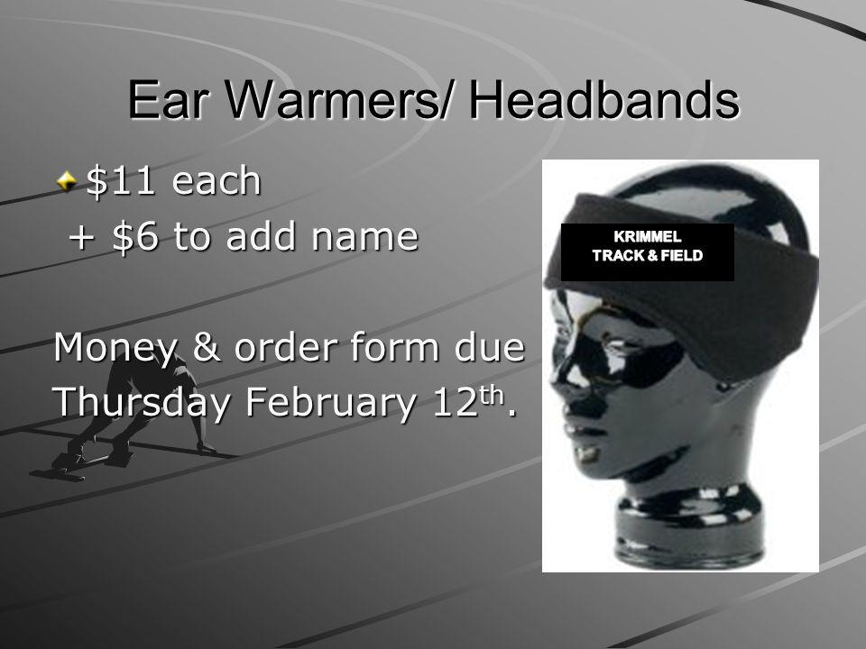 Ear Warmers/ Headbands