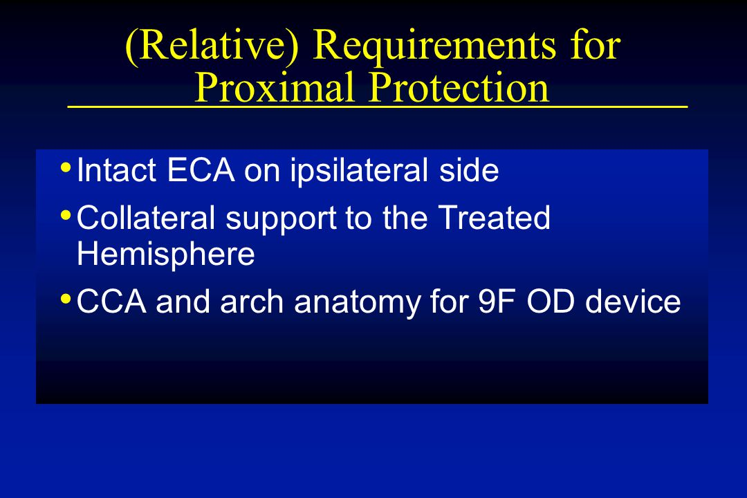 (Relative) Requirements for Proximal Protection
