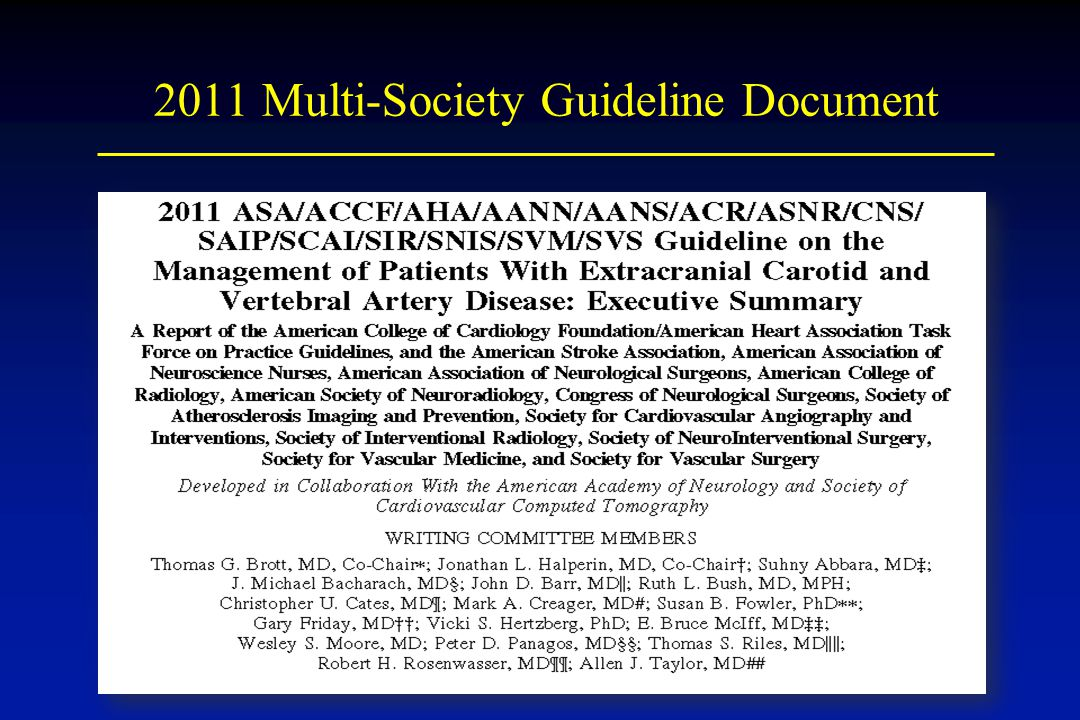2011 Multi-Society Guideline Document