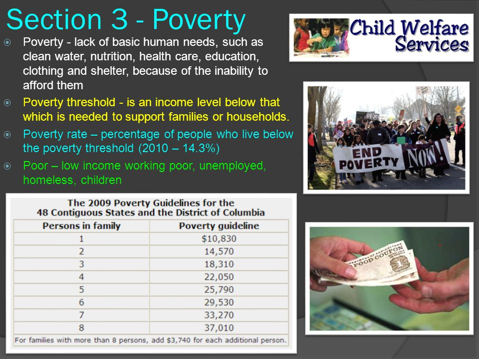 a description of poverty as the lack of or inability to afford the basic human needs We propose a definition of energy poverty based on the capabilities approach   for some commentators, the whole history of human 'progress' and  as an  essential need or right that should be provided for, and the lack of this as a form  of  has defined fuel poverty as 'the inability to afford adequate warmth in a  home,.