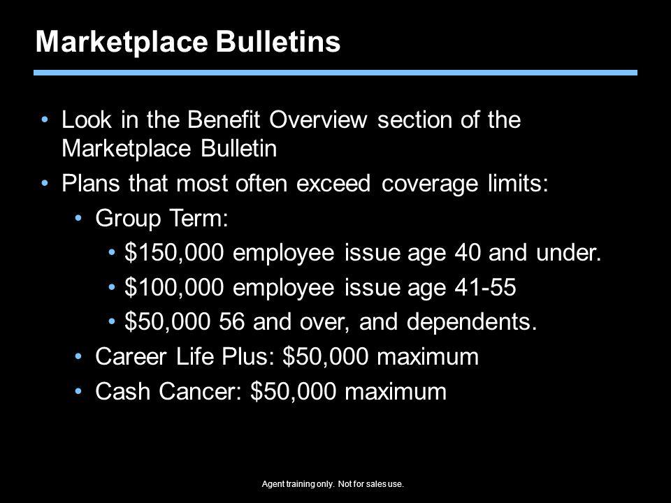 Marketplace Bulletins
