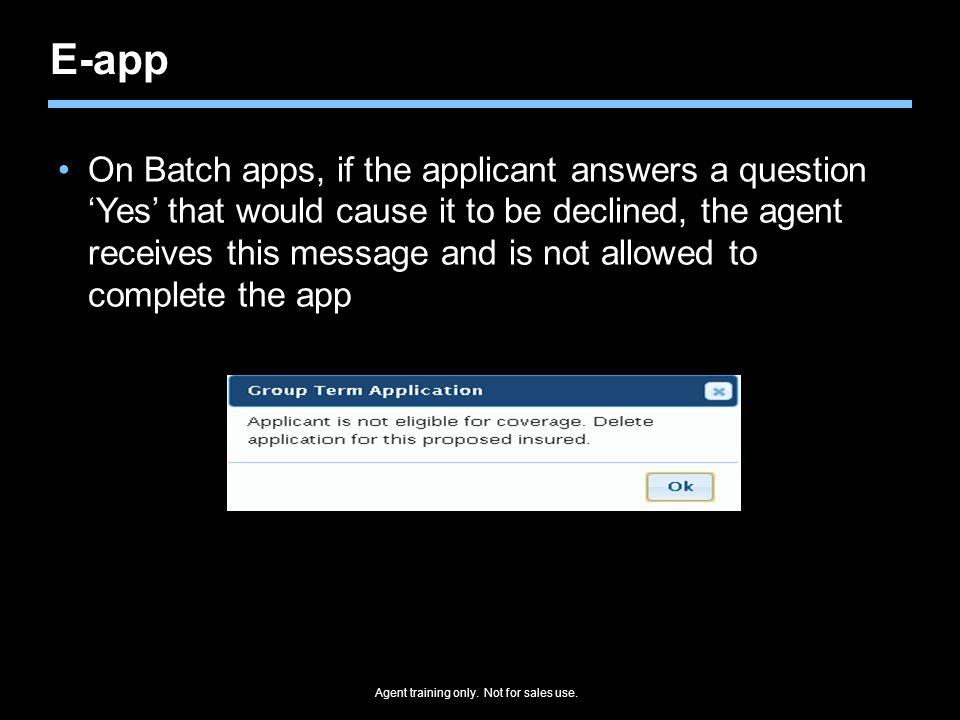 E-app