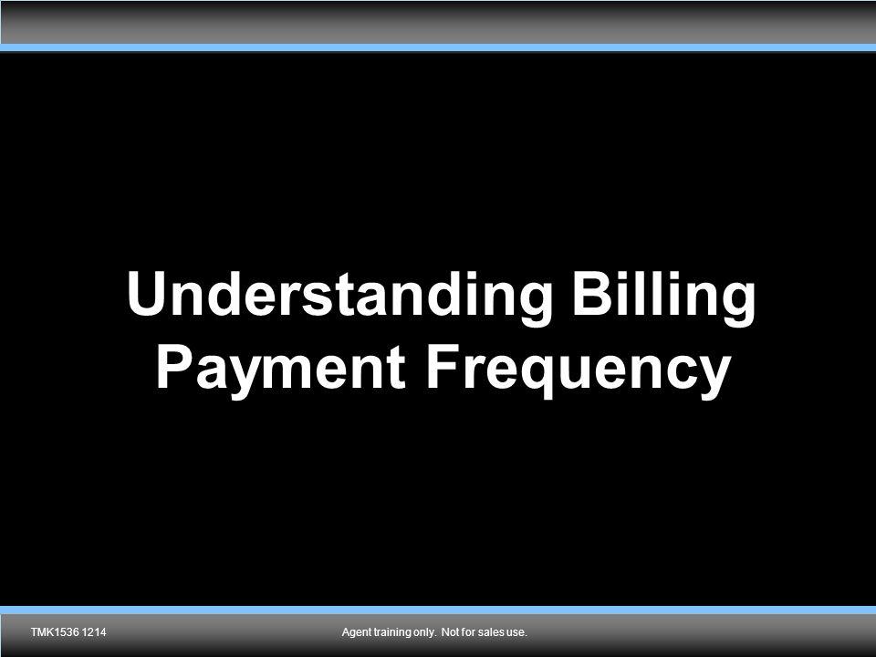 Understanding Billing Payment Frequency