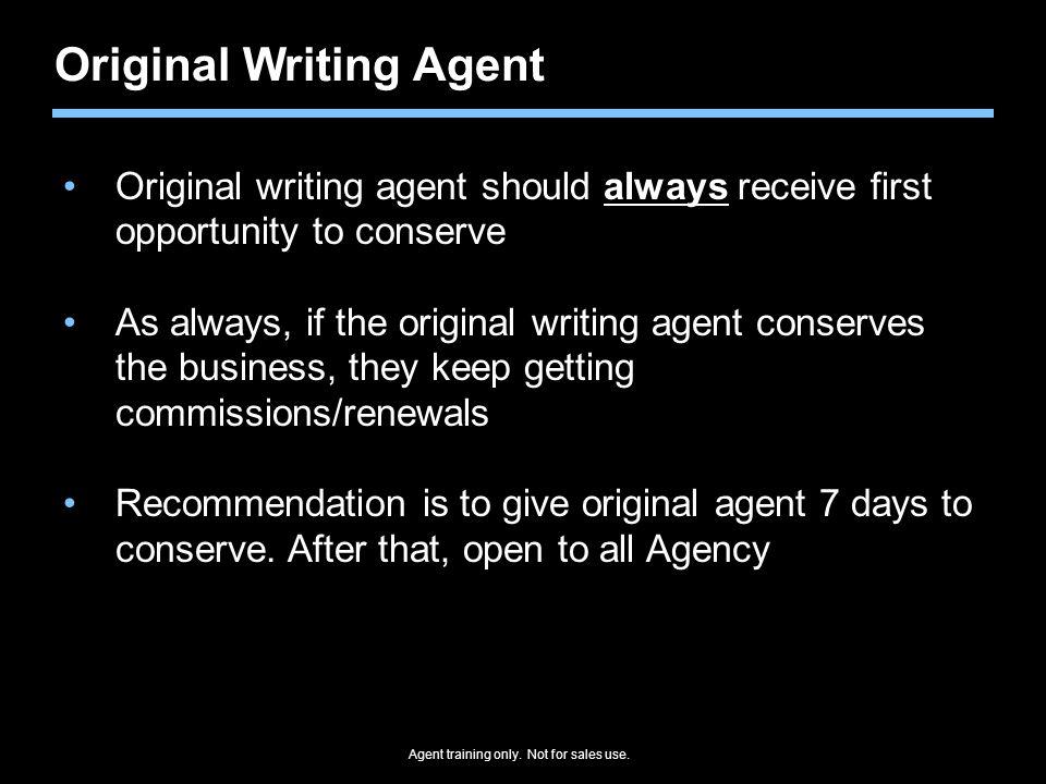 Original Writing Agent