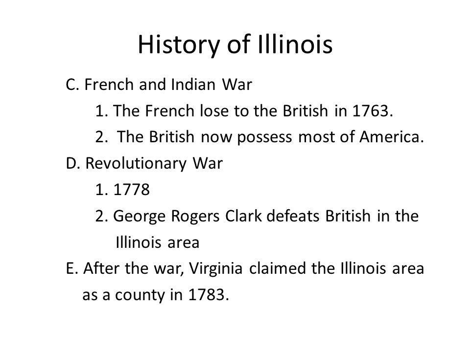 History of Illinois