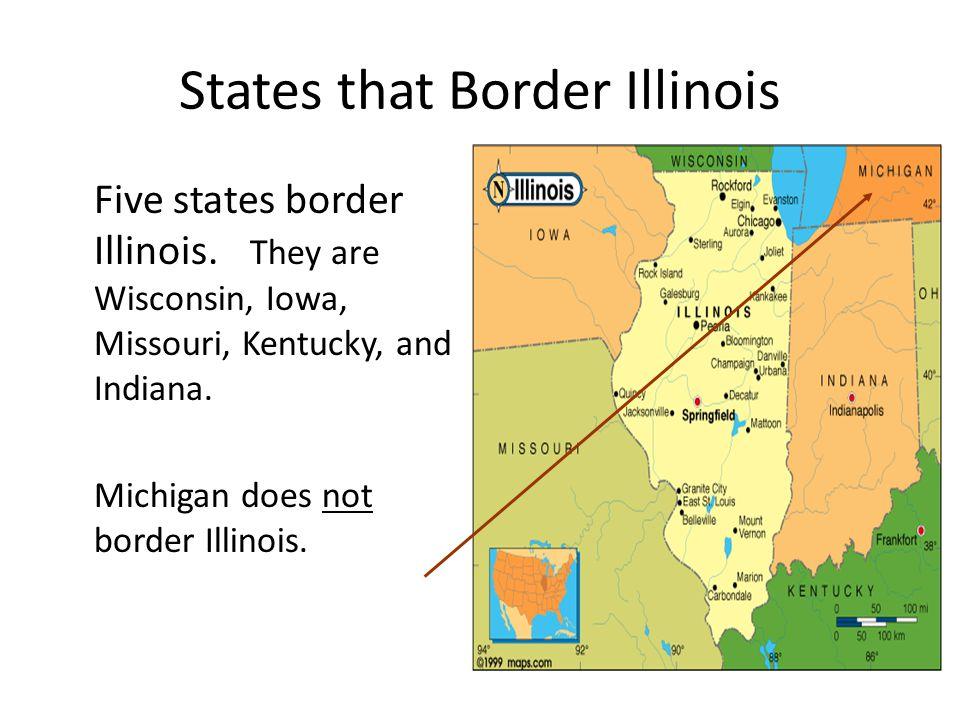 States that Border Illinois