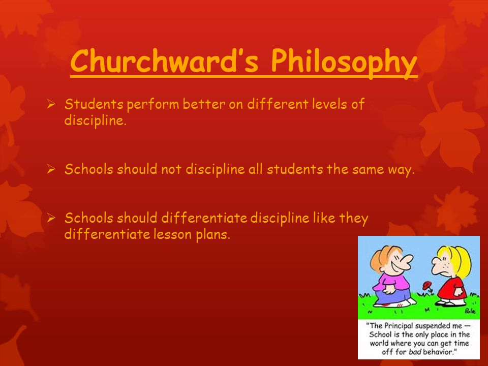Churchward's Philosophy