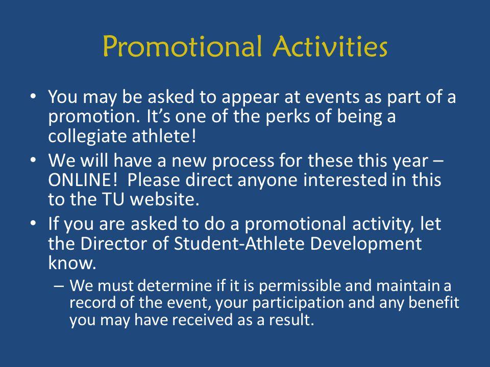 Promotional Activities