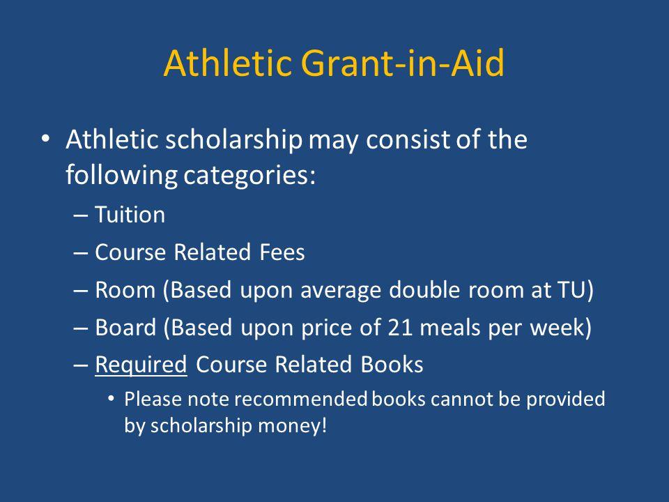 Athletic Grant-in-Aid