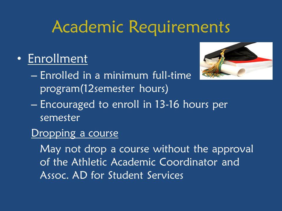 Academic Requirements