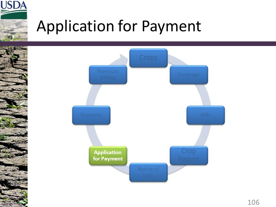 Application for Payment