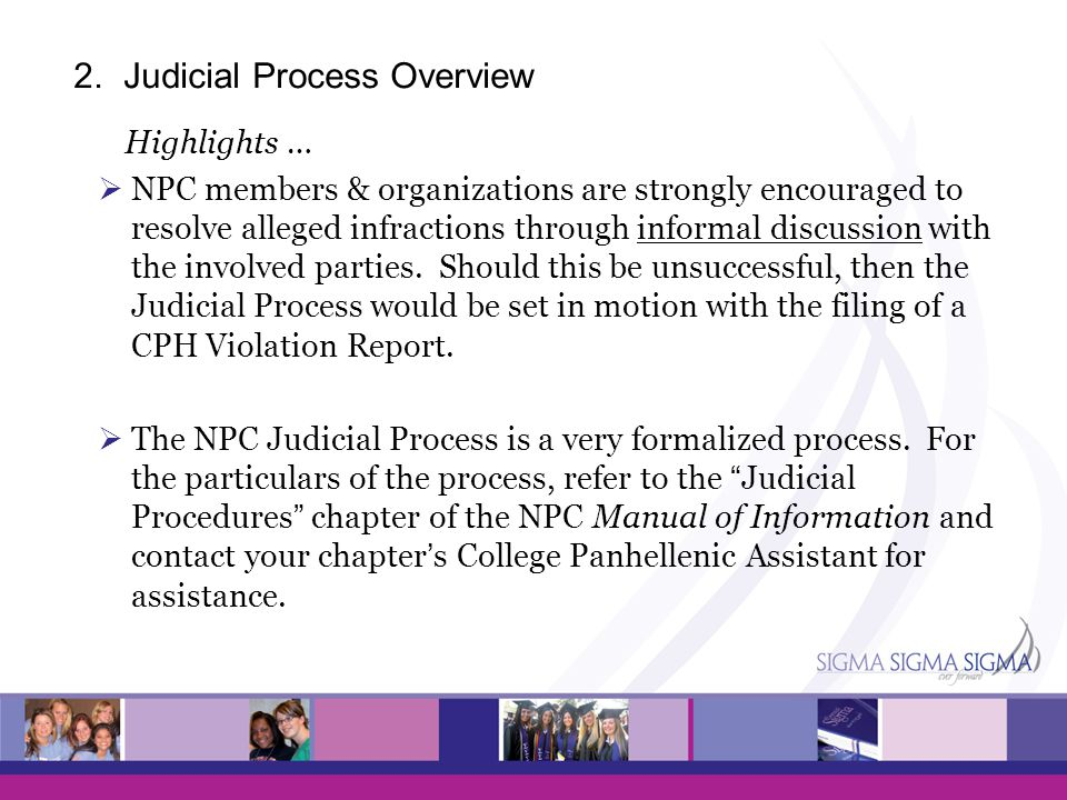 2. Judicial Process Overview