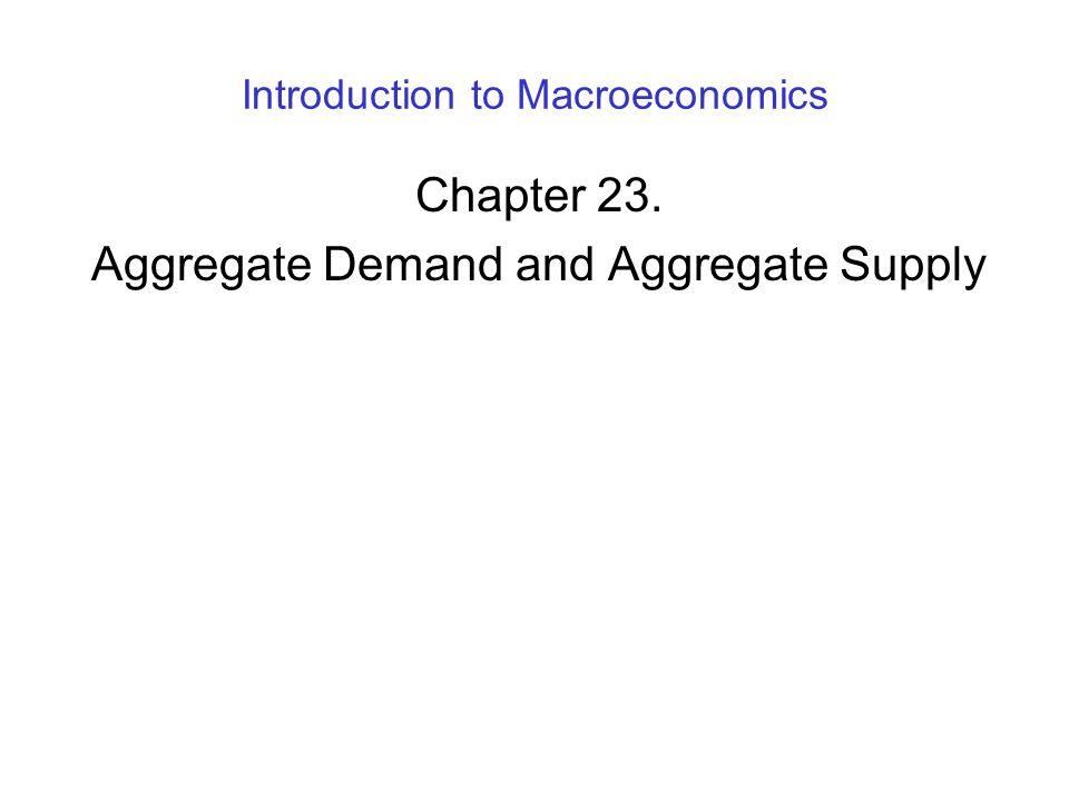 Introduction to Macroeconomics