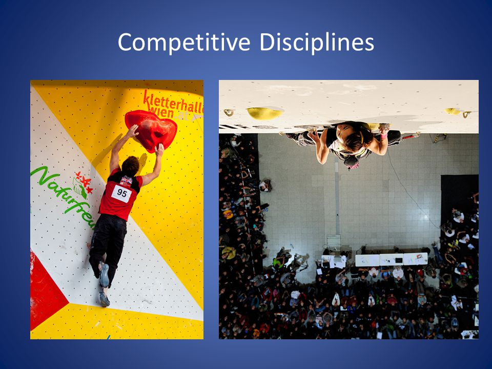 Competitive Disciplines