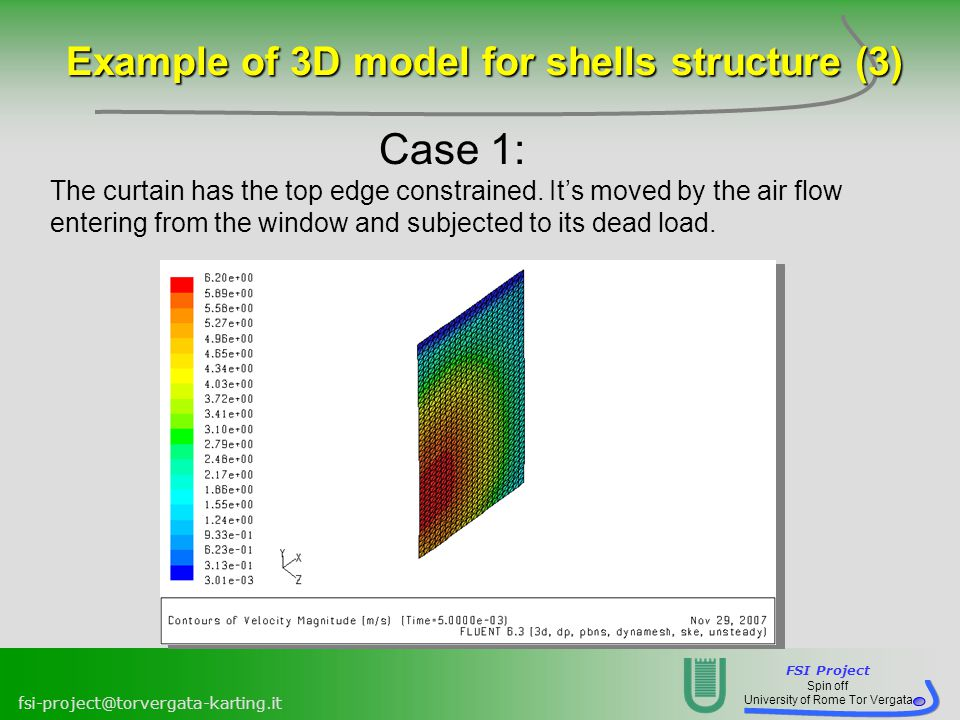 Example of 3D model for shells structure (3)