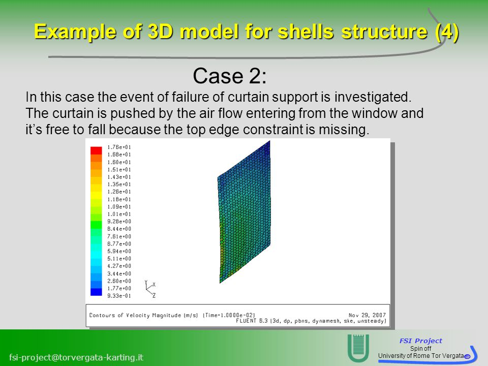 Example of 3D model for shells structure (4)