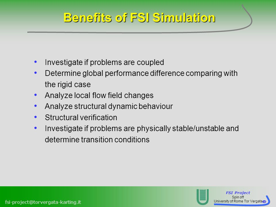 Benefits of FSI Simulation