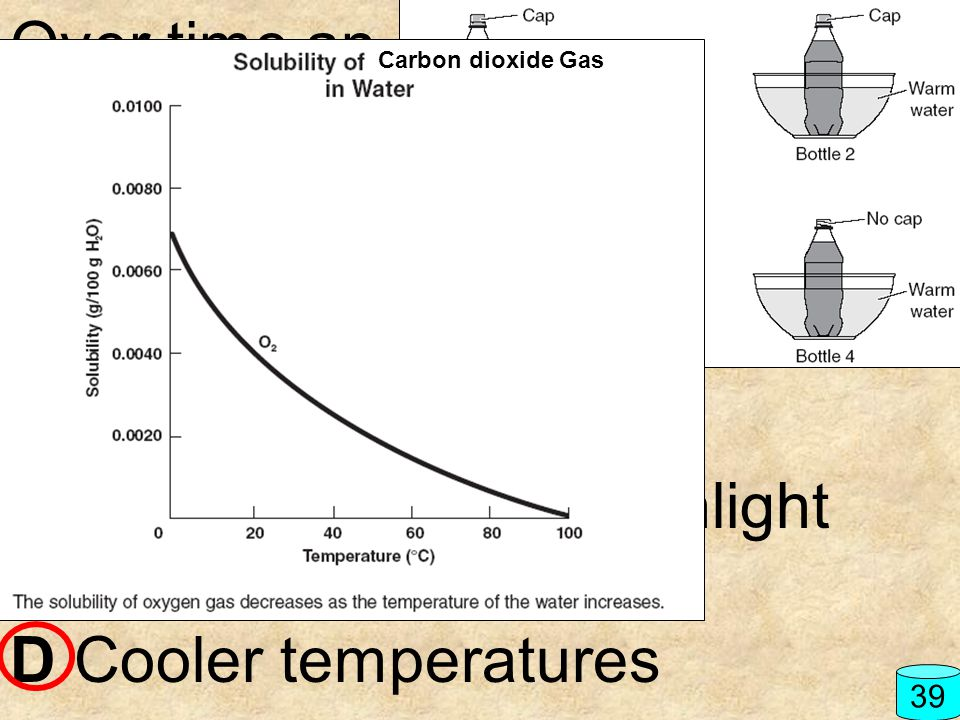 B Exposure to direct sunlight C Increased air currents