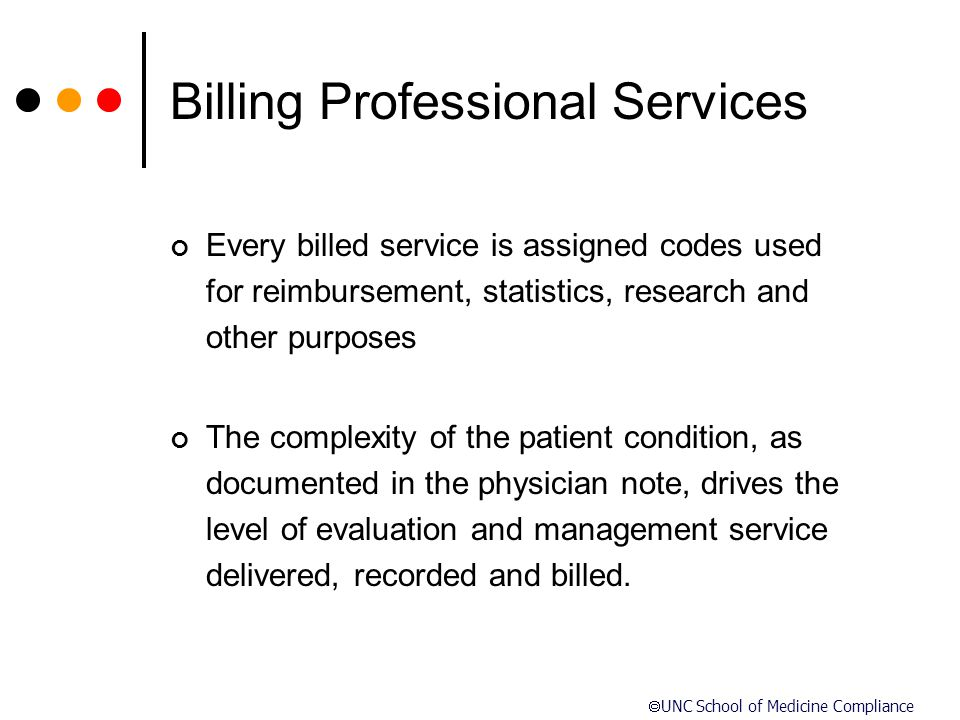 Billing Professional Services