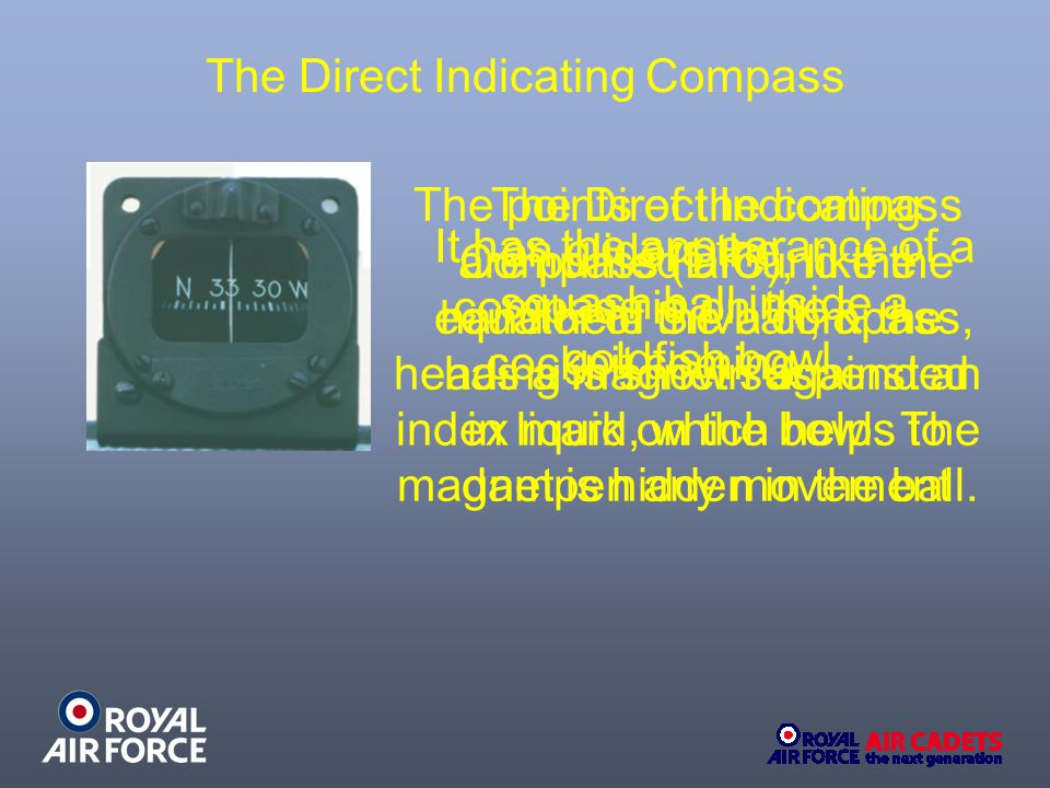 The Direct Indicating Compass