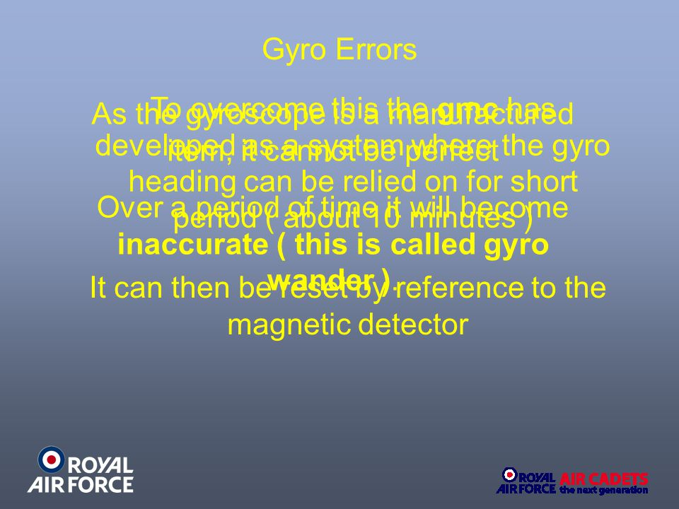As the gyroscope is a manufactured item, it cannot be perfect